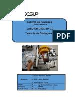 Laboratorio 10 Valvula de Diafragma