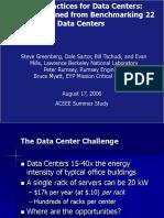 Datacenter Best Practices