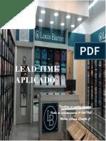 Lead Time Aplicado