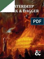 Waterdeep Cloak & Dagger
