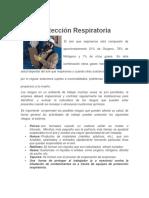 Protección Respiratoria información veráz