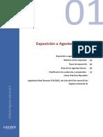 01. Exposicion a Agentes Quimicos. Toxicologia