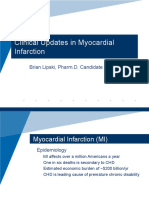 Clinical Updates in Myocardial Infarction