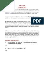 The Oak Summary.docx