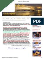 à Festa Da Páscoa - Luzdosabados Webseite!