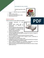 Características de Las Máquinas y Equipos Utilizados en La Elaboración de Los Licores de Frutas, Vinos,