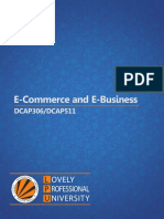 4295 Dcap306 Dcap511 E-commerce and E-business