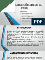 El Multilingüismo en El Peru (1)