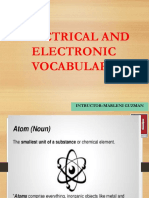 Electric and Electronic Vocavulary Mant Maq.