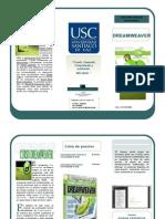 folleto dreamweaver