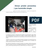 casos de delito