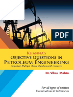 Khanna's Objective Questions in Petroleum Engineering