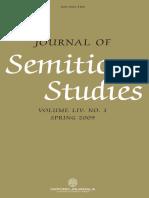 Journal of Semitic Studies-Vol. 1-2009.PDF