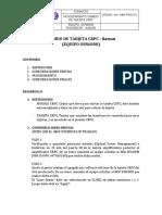 Proc-02 Cambio de Tarjeta Crpc
