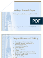 Writing a Research Paper PPT