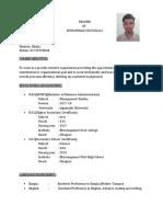 RESUME of Sultan PDF