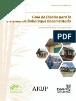 2015 Guia de Disencc83o Para Viviendas de Bahareque Encementado