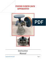 Manual for Compound Screw Jack-1
