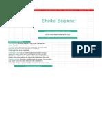 Sheiko Beginner Program   LiftVault.com