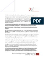 Statement Green Paper OPFVB