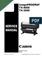manual de servicio tx 3000