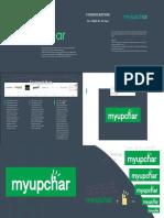 Myupchar Logo design