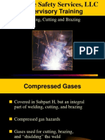 Welding Cutting and Brazing