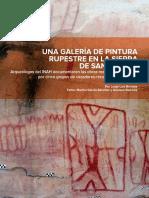 Artículo Sobre La Pintur Rupestre en La Sierra de San Carlos