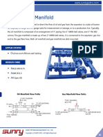 Oil Gas Division Manifold