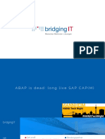 ABAP is Dead Long Live SAP CAPM Public