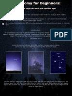 astronomy flyer gc