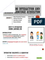 Classroom Interaction and SLA Fix