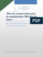 Plan de Recuperacion_200 Dias de Clases_fco Morazan