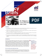 DTI Policy Brief 2017 09 the Philippines in the Cocoa Chocolate Global Value Chain