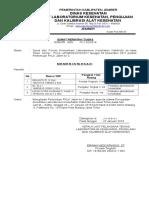Surat Tugas Fklk Jatim Ke 3