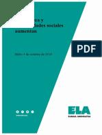Informe pobreza Euskadi (elaborado por ELA)