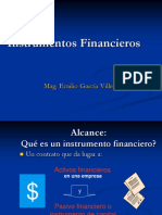 (10)Instrumentos  Financieros