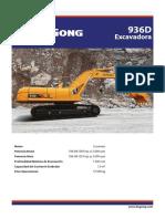 Liugong 936d excavator