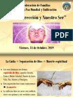 1. Tema - La Resurrección y Nuestro Ser.