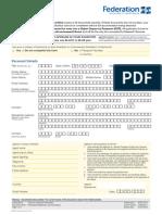 FedUni Application Form
