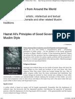 Principle of Good Governance