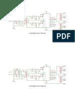 3 kW dc-dc converter electrical schematics