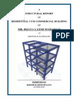 Structure Report Shrada Maharjan