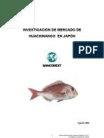 Investigación de  Mercado de Huachinango en Japón 2006