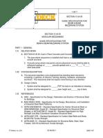 Wildeck SECTION 13-44-00 Beam Beam Mezz Spec CSI