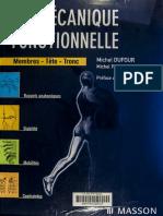 DUFUR - PILLU, Biomécanique Fonctionnelle