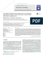 A Combined Adsorption and Flocculation Process for Producing l 2014 Bioresou