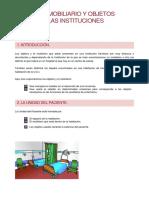 Utensilios Mobiliario y Objetos Basicos de Las Instituciones Sanitarias Ctos. Tecnicos