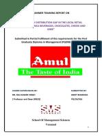 Amul Internship Report Clg (1)