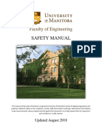 Faculty of Engineering Safety Manual